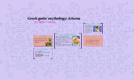 Greek gods/ mythology: Athena