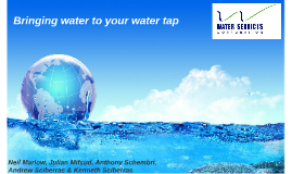 Bringing water to your water tap