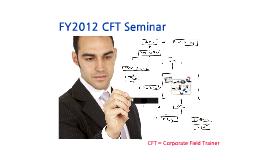 FY2012 CFT Seminar