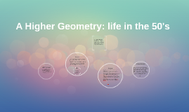 A Higher Geometry: life in the 50's