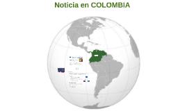 Noticia en Colombie