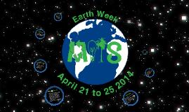 Earth Week 2014 Proposal