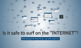 """Is it safe to surf on the """"INTERNET""""?"""