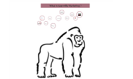 Copy of What is Guerrilla Marketing ?