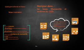Bases Manuscrits du CCFr, présentation