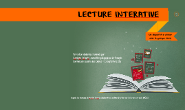 Copy of Lecture interactive - 23 septembre 2016
