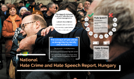 Tackling Hate Crime and Hate Speech