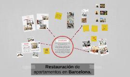 Restauración de apartamentos en Barcelona