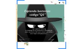 Código QS, el lenguaje de las bacterias.