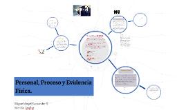 Personal, Proceso y Evidencia Fisica.