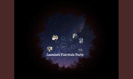Jasmine's Fairytale Party
