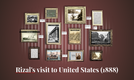 Rizal's visit to United States (1888)