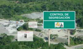 Control segregación