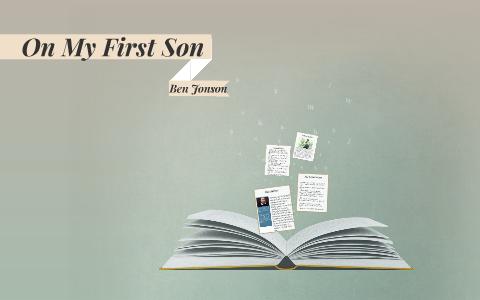 on my first son ben johnson