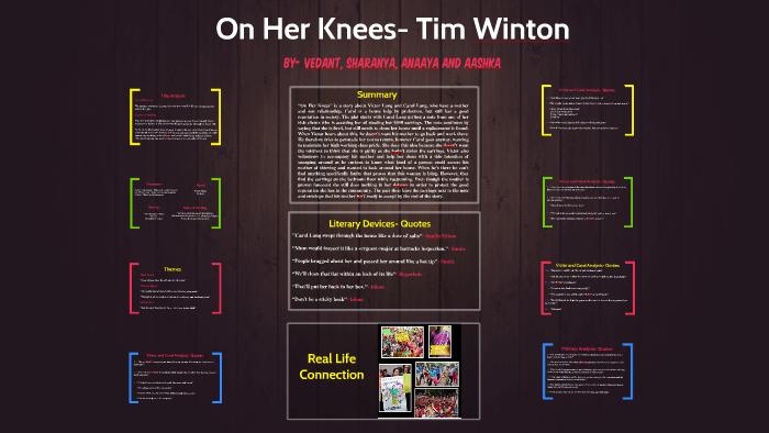 on her knees summary