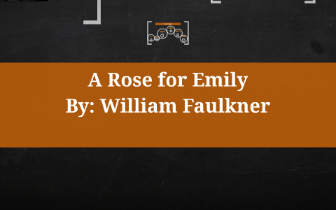 a rose for emily rising action
