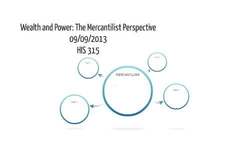 tenets of mercantilism