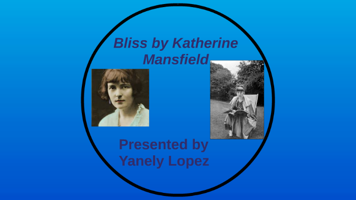 bliss katherine mansfield summary