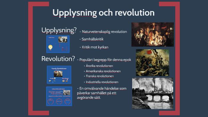 Upplysning Och Revolution By Maja Persson Riis