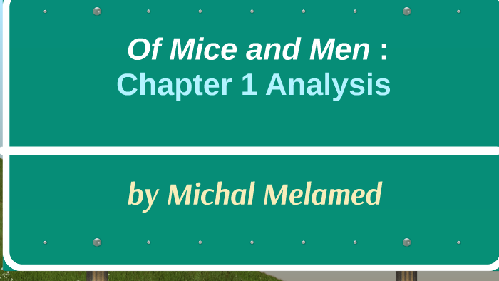 of mice and men analysis