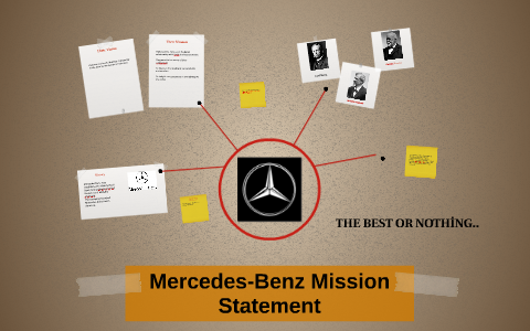 mercedes mission statement