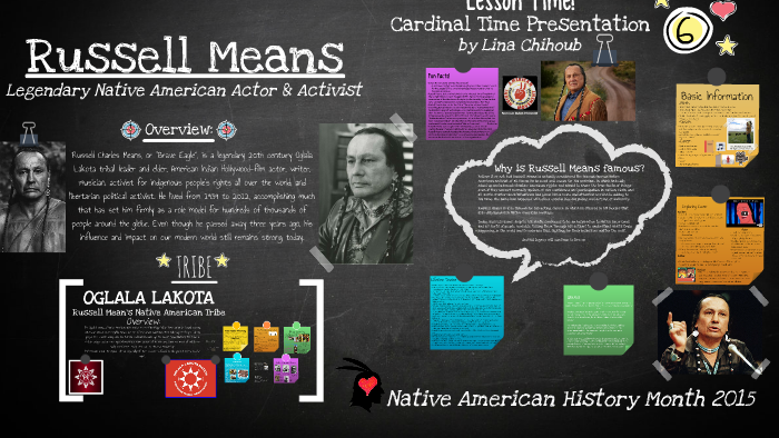 Russell Means by Alia Vyse on Prezi