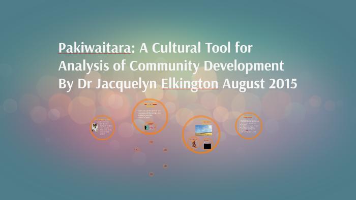 Pakiwaitara - Analysis Tool for Community Development by Dr