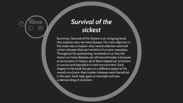 survival of the sickest chapter 1 summary