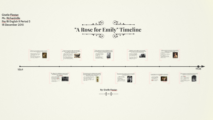 An analysis of the life of emily grierson in william faulkners book a rose for emily