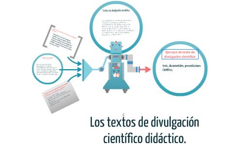 Tema 3 Los Textos De Divulgación Científico Didáctico By