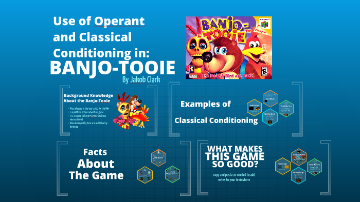 Use of Operant and Classical conditioning in Banjo-Tooie by