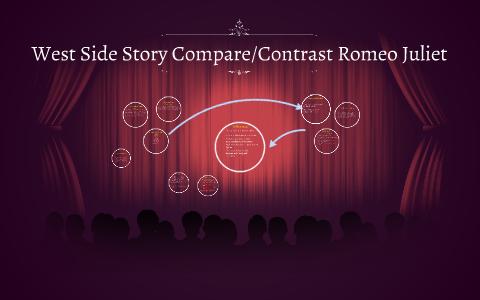 West Side Story Comparecontrast Romeo Juliet By Mic Dep On Prezi