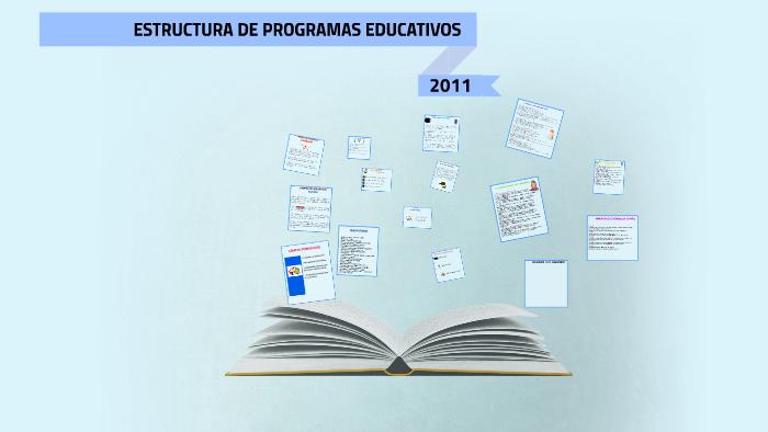 Estructura De Programas Educativos By Luis Mondethi On Prezi