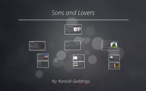 sons and lovers themes sparknotes