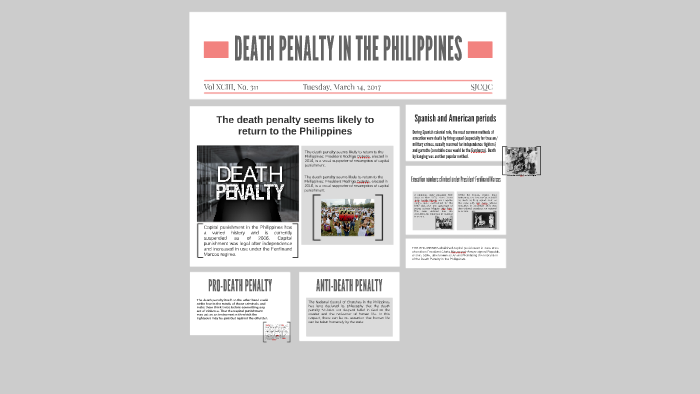 death penalty in spanish