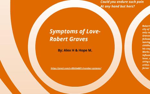 symptoms of love robert graves