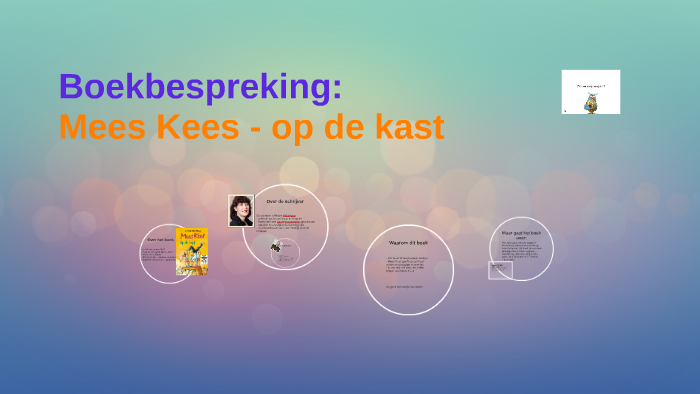 Boekbespreking Mees Kees Op De Kast By Andra De Roos On Prezi