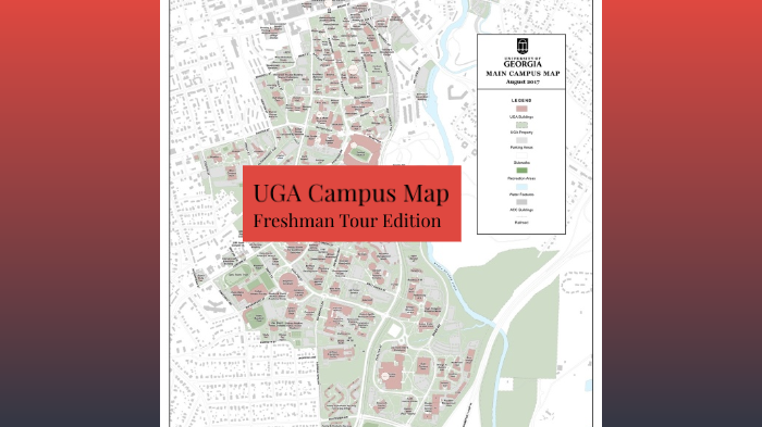 Uga Campus Map By Austin Sumter On Prezi Next