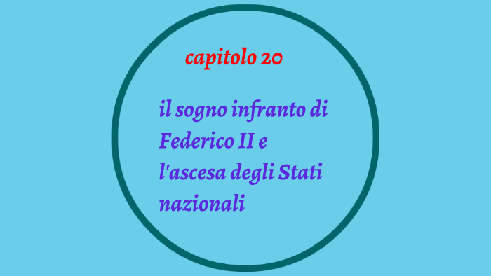 IL SOGNO INFRANTO DI FEDERICO II by Anna Bz on Prezi