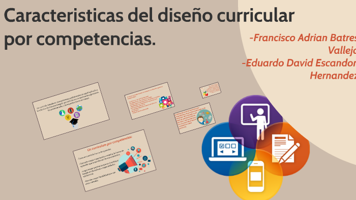 Caracteristicas Del Diseño Curricular Por Competencias By