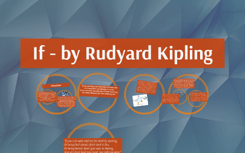 image relating to If by Rudyard Kipling Printable named If - via Rudyard Kipling through Russell Top secret upon Prezi