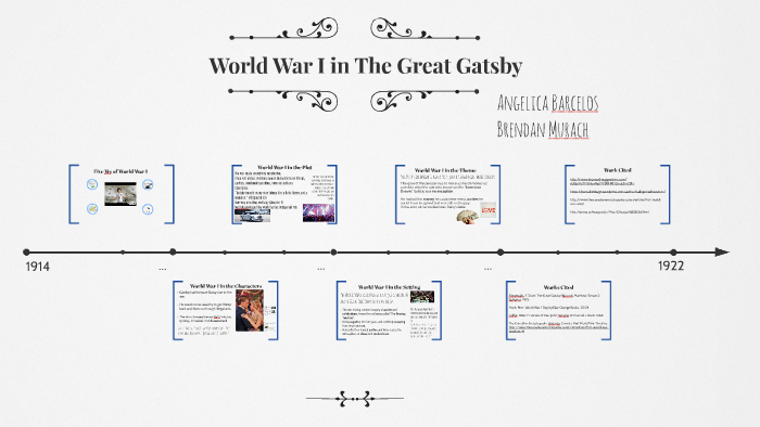 WWI in The Great Gatsby by Angelica Barcelos on Prezi