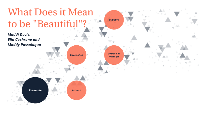 What Does It Mean To Be Beautiful By Maddi Davis On Prezi Next