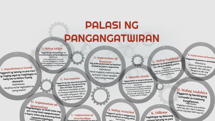 Tagalog argumentum ad populum 10: Argumentum