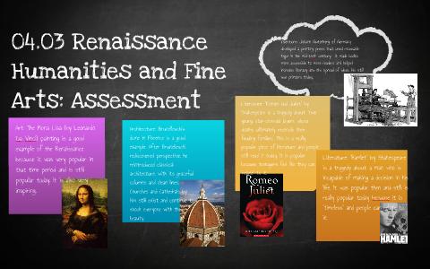 renaissance period assessment