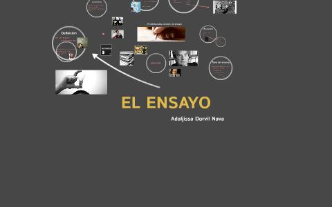 El Ensayo By Adaljissa Dorvil On Prezi