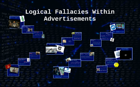 examples of logical fallacies in commercials