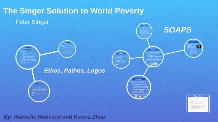 The singer solution to world poverty essay
