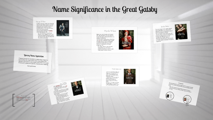 the great gatsby deeper meaning