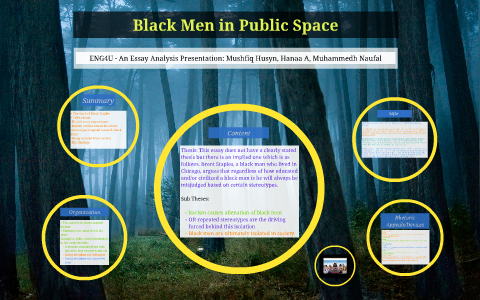 Science Essays  English Essays For Students also High School Essay Examples Black Men In Public Space By Muhammedh Naufal On Prezi Essays For Kids In English